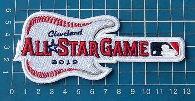 "2019 All Star Game ASG Sleeve logo Patch Cleveland Indians 6"" embroidered"