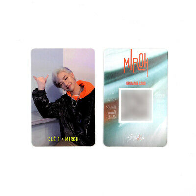 [STRAY KIDS]SKZ / Cle1 : MIROH Official Photocard/CLE 1:MIROH LOGO/BANGCHAN