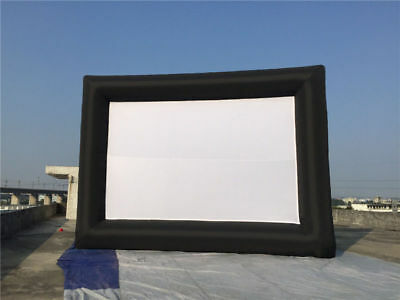 Inflatable Movie Screen PVC Tarpaulin Outdoor Advertising showing 196*118inches