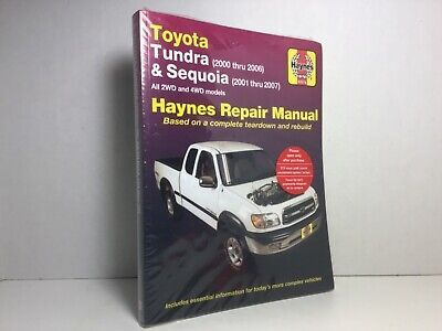 2007 toyota sequoia service manual