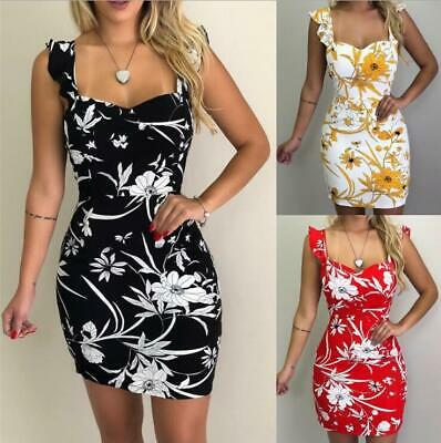 Womens Holiday Mini Playsuits Ladies Jumpsuits Beach Summer Dress Size 6 - 14