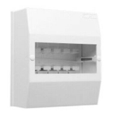 Clipsal SURFACE MOUNTING ENCLOSURE 206x126x92mm 6-Modules, Shallow Base, White