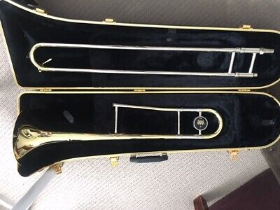 King Trombone Model 606 With King 12C Mouthpiece