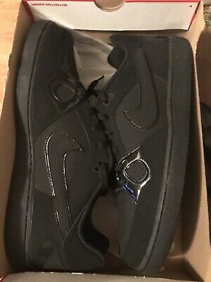 the latest 46743 4347f New Mens Nike Son Of Force Black Sneakers Size 14M