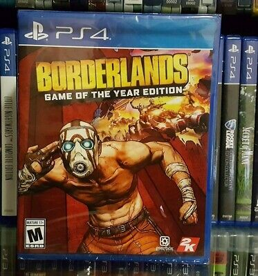 Borderlands: Game Of The Year Edition GOTY (Sony PlayStation 4 PS4, 2019) SEALED