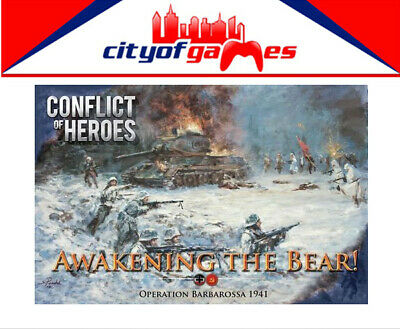 Conflict of Heroes Awakening the Bear Board Game Brand New Pre Order