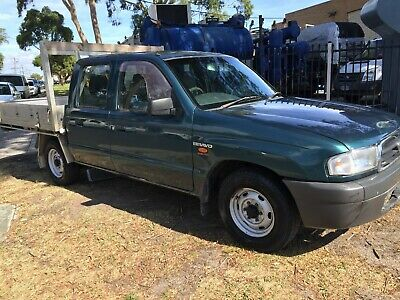 Mazda B2600 Dual Cab, Duel Fuel, Air Con, Rwc & Reg. 5 Speed Manual, Tow Bar