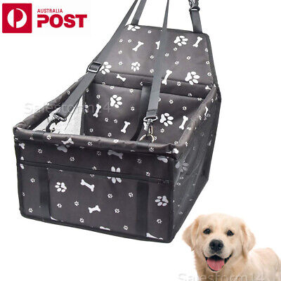 Pet Car Booster Seat Puppy Cat Dog Auto Carrier Travel Protector Safety Basket I