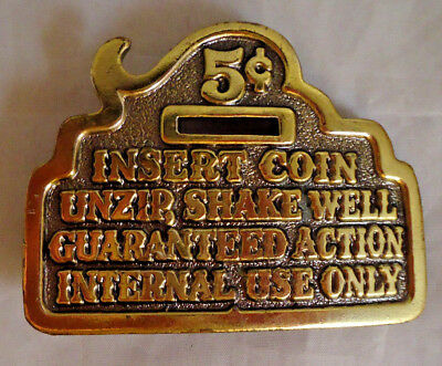 Vintage 1979 Great American Buckle Company Limited Edition Novelty Belt Buckle