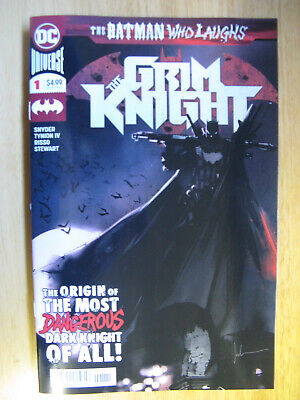 Batman Who Laughs The Grim Knight #1 (Brand New With Bag/Board) Nm++