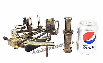 Nautical SEXTANT 8 Inch Collectible Antique German Marine Working Vintage Gift