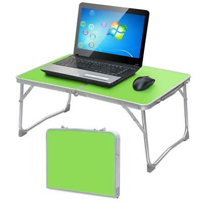 Portable Laptop Desk Folding Laptop Table Stand Computer Notebook Bed Tray Green