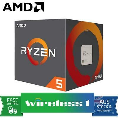 AMD Ryzen 5 2600X 6-Core AM4 4.25GHz CPU Processor with Wraith Spire Cooler