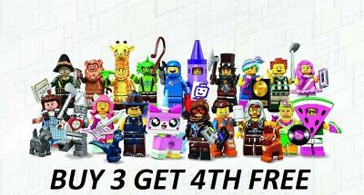 The Lego Movie 2 + The Wizard Of Oz Minifigures All Buy 3 Get 1 Free