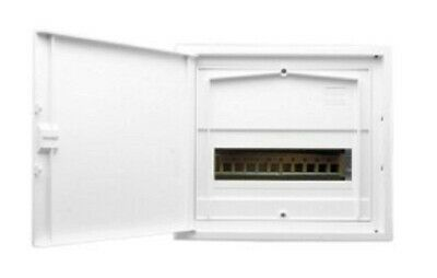 Clipsal SWITCHBOARD ENCLOSURE 281x310x82mm 11-Modules Flush Mounting, White
