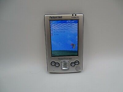 Packard Bell Pocket Gear 3025 PDA 2003 Boxed Tested Works