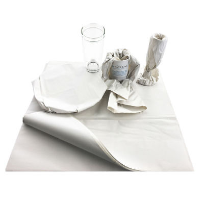 """500 xMedium 18 x 24"""" White Packing Paper Chip Shop Paper Newspaper Sheets Offcut"""