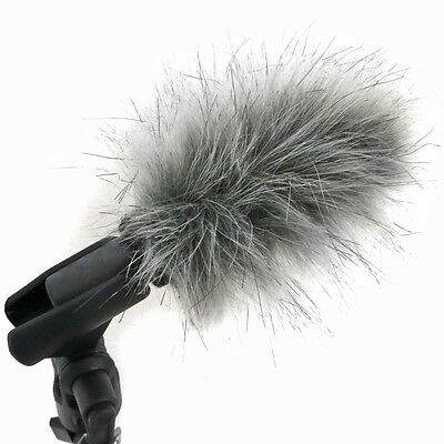 Keepdrum WS04 fur Windscreen for Small-Diaphragm Microphones Stabmikrofone
