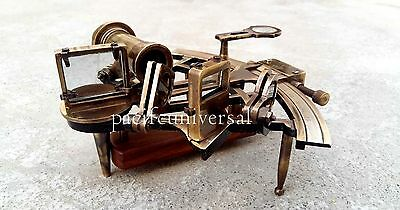 Vintage Heavy German Working model sextant marine sea nautical gift collectible
