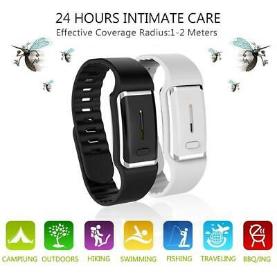 Ultrasonic Anti Mosquito Insect Pest Bugs Repellent Repeller Wrist Bracelet MQ