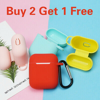 Protective Silicone Case Cover Strap Holder For Apple Airpods Earpod Accessories