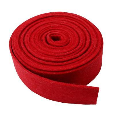 New DIY Handcraft Accessory Straps Wool Blend Felt Fabric Band Red ONE