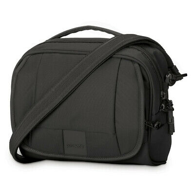 NEW Pacsafe Metrosafe LS140 Shoulder Bag Black