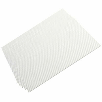 CN_ 5Pcs White ABS Plastic Model electrical House Building Steps Plate Board
