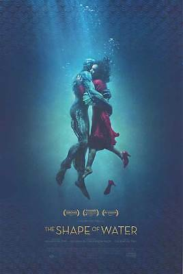 Guillermo del Toro THE SHAPE OF WATER 2017 27X40 Original DS Movie Poster B