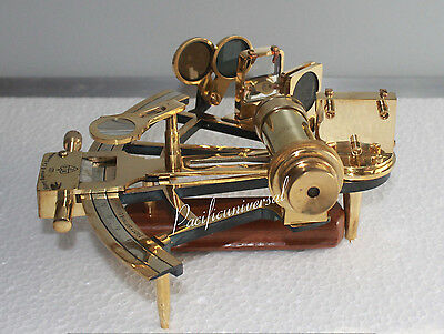 Solid Brass Sextant Nautical Marine Ship Navigation Maritime Gift Working Item.