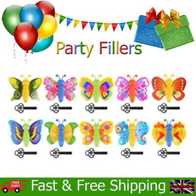 Key Spring Butterfly Kids Childrens Birthday Christmas Party Bag Fillers Toys