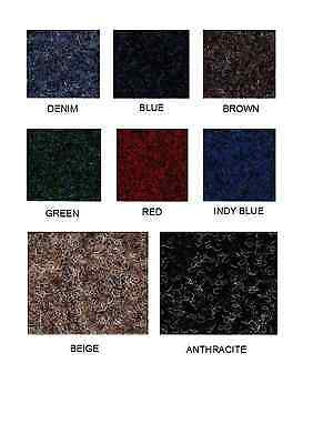 Cfs Atlas Velour Contract Carpet - 4M Wide - Water Resistant Gel Backing