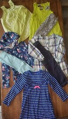 9 Pc Girl's Clothes Lot Carter's Outfit Set Leggings Healthtex Dress - Size 5T
