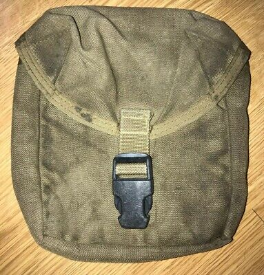 USMC Individual First Aid Kit IFAK MOLLE UTILITY Pouch Coyote Brown US MILITARY