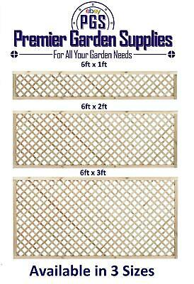 Elite Diamond Alderley Trellis Garden Lattice Climbing Various sizes 1-3 treated