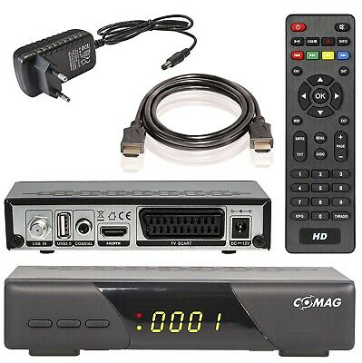 COMAG HD200 Digital HD SAT Receiver mit HDMI Scart DVB-S2 USB Mediaplayer 1080p