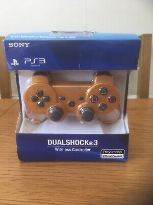 Sony Playstation 3 (Ps3) Dualshock 3 Sixaxis Wireless Controller - Gold