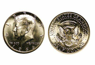 1966 Kennedy Half Dollar - Choice BU   #445