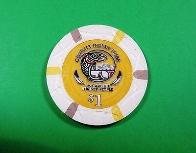 ilani $1 Poker Chip New Casino in Ridgefield WA Cowlitz Indian Reservation