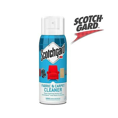 Scotchgard Fabric Carpet Cleaner 14oz Deep Foaming Action Anti-Stain Protection