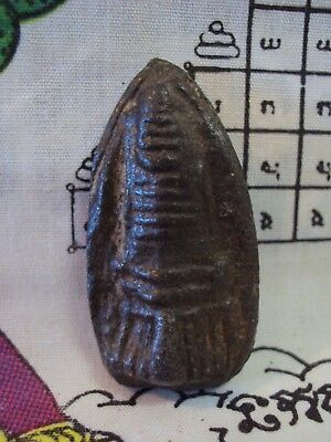 Ancient Pagoda Terracotta Stupa Talisman Magic Artifact Thai Buddha Amulet