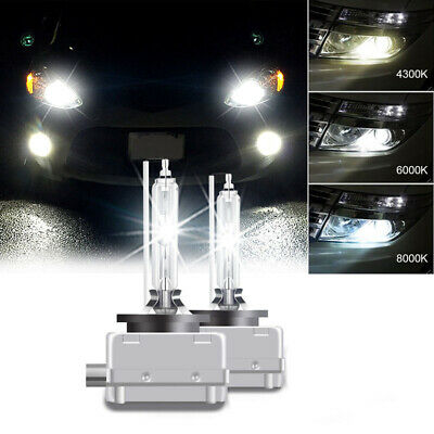 2 x D1S XENON BULB HID Headlight 35W 4300K 6000K 8000K Fit for BMW Audi
