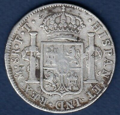 1803 SILVER DOLLAR OF KING CHARLES IV of SPAIN, WITH CHINESE CHOP MARKS - MEXICO