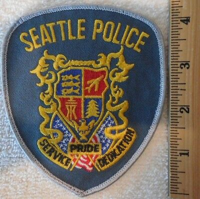 Seattle Washington Police Patch (Highway Patrol, State Police)