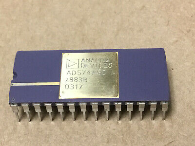(1 PC) ANALOG DEVICE AD574ASD/883B  Analog to Digital Converters  OLD  GOLD