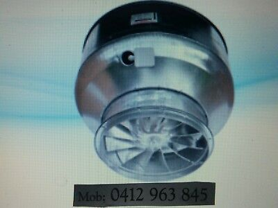 New Exhaust Fan V38 Single Ph Or 3 Ph For Commercial Canopy All Sizes Available