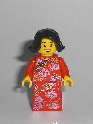 LEGO Holiday - Mutter - Figur Minifig Mother Mama Mami Neujahr China Asien 80101