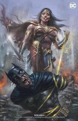 DCeased 1 Lucio Parrillo LimIted Trade Dress Variant Wonder Batman, Presale NM