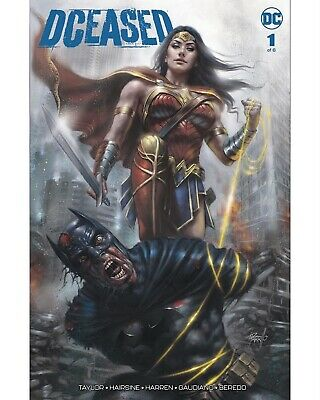 DCeased 1 Lucio Parrillo Trade Dress Variant Wonder Woman Batman, Presale NM,HOT