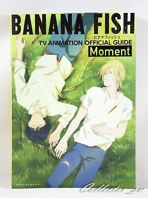 3 - 7 Days | Banana Fish TV Animation Official Guide: Moment + Poster from JP